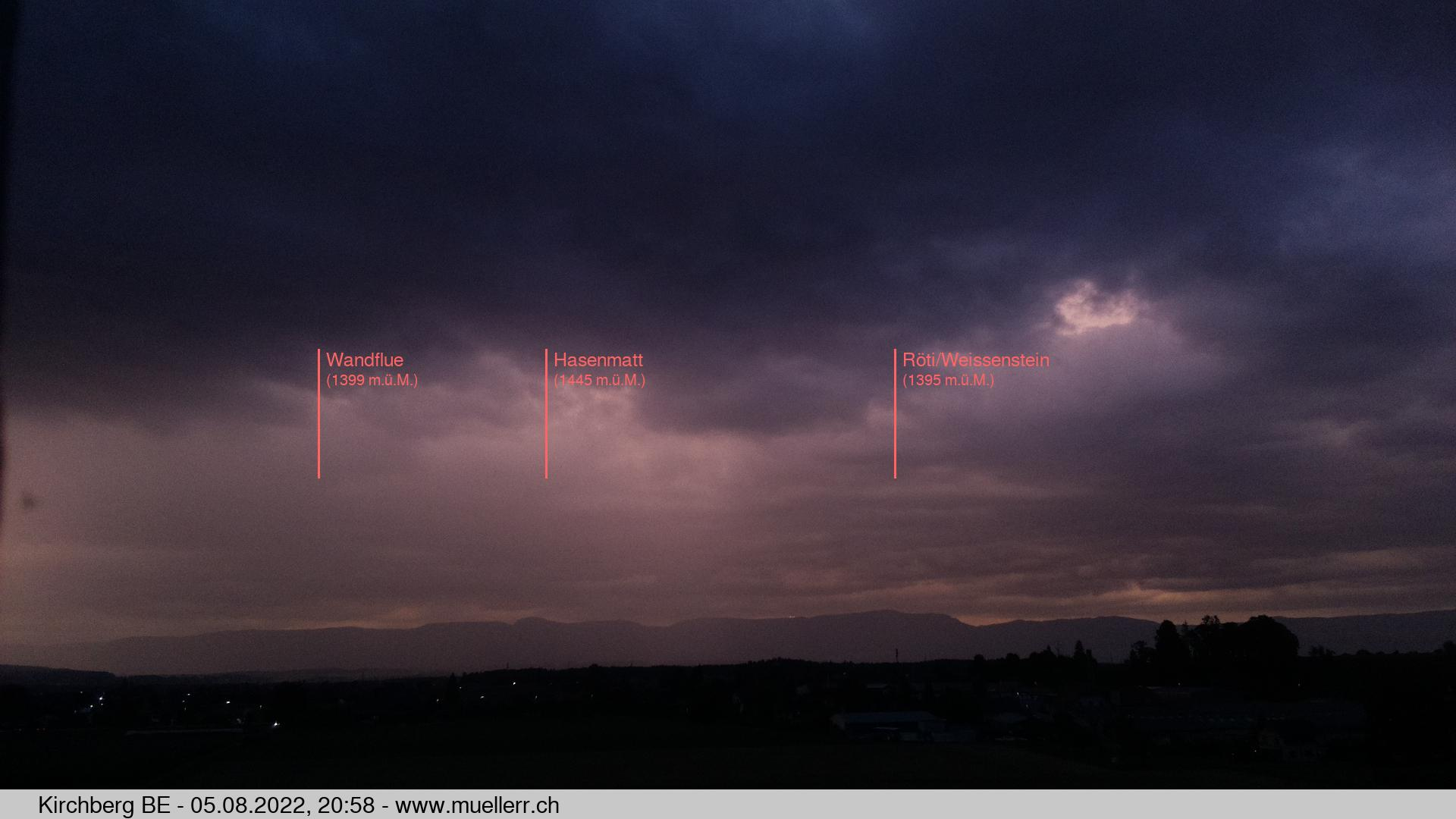 webcam kirchberg bern, towards chain jura