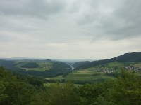 view from petersboden tower