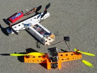 quadcopter #7, evolution 1, after 2nd crash