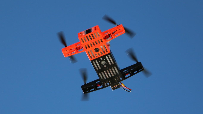 quadcopter #7, evolution 3, urbachtal