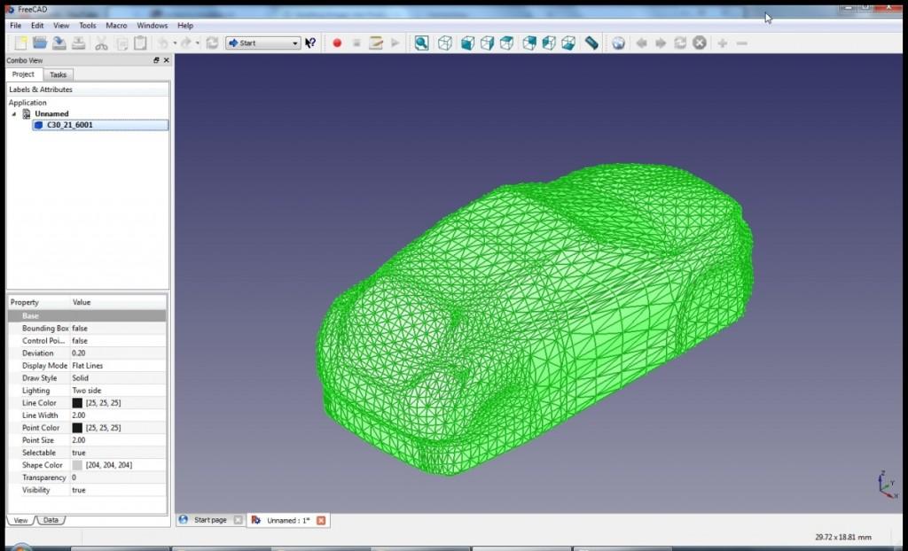 Step 3 Freecad Create Cad Model From Mesh Muellerr Ch