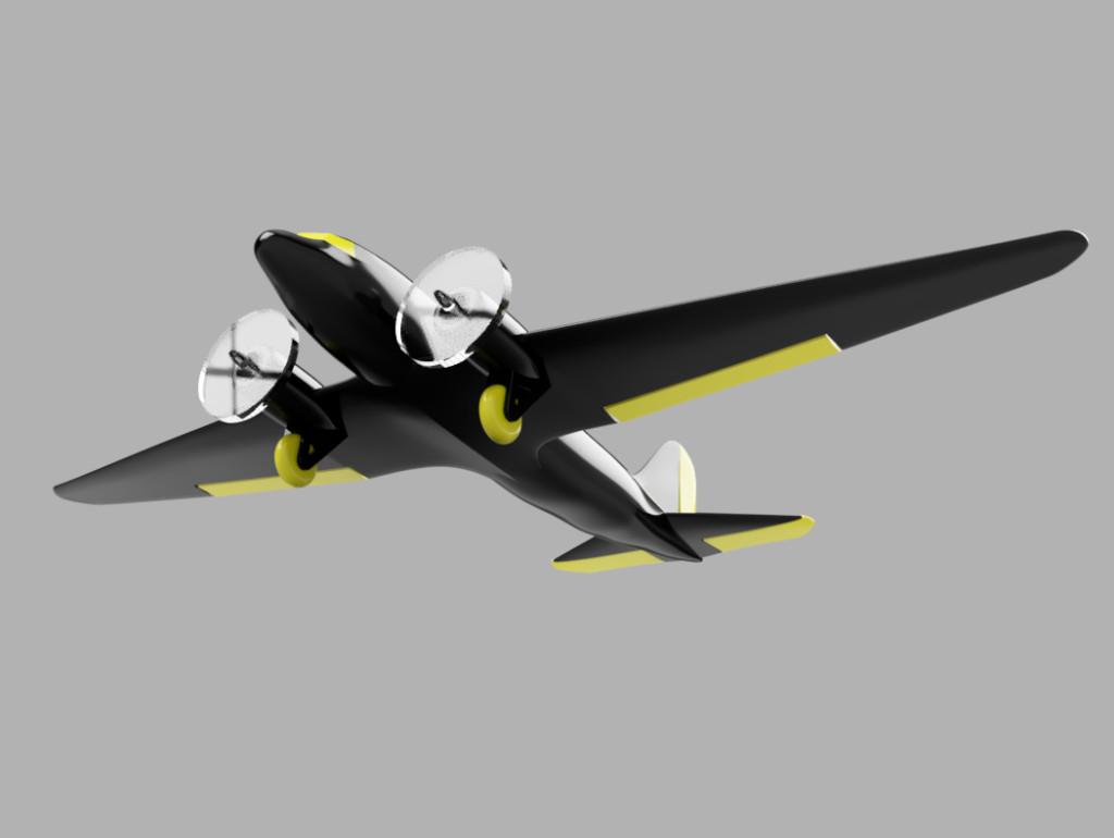 c-47 model underside